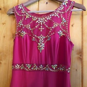 Pink Betsy Adam Gown